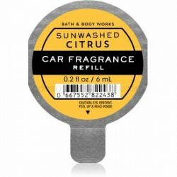Bath & Body Works Sun-Washed Citrus vôňa do auta 6 ml