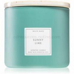 Bath & Body Works Sunny Lime vonná sviečka 411 g