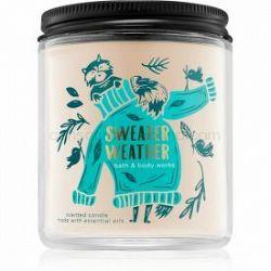 Bath & Body Works Sweater Weather vonná sviečka I. 198 g