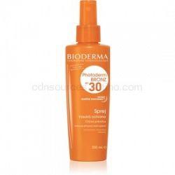 Bioderma Photoderm Bronz SPF 30 ochranný sprej na podporu a predĺženie prirodzeného opálenia SPF 30 200 ml