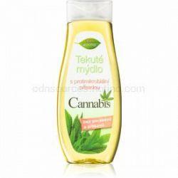 Bione Cosmetics Cannabis tekuté mydlo na ruky s antibakteriálnou prísadou 300 ml