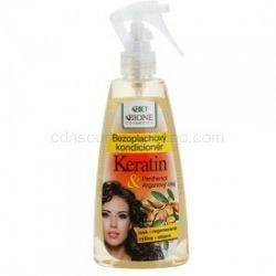 Bione Cosmetics Keratin Argan bezoplachový kondicionér v spreji 260 ml
