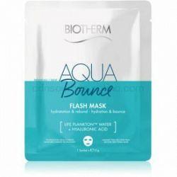 Biotherm Aqua Bounce Super Concentrate plátenná maska 35 ml