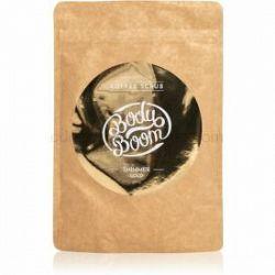 BodyBoom Shimmer Gold kávový telový peeling 200 g
