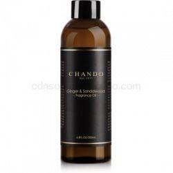 Chando Fragrance Oil Ginger & Sandalwood náplň do aróma difuzérov 200 ml