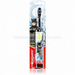 Colgate Kids Batman detská zubná kefka na batérie extra soft Black