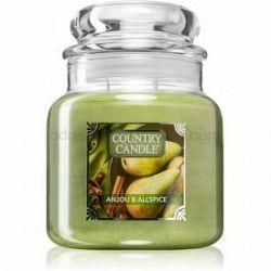 Country Candle Anjou & Allspice vonná sviečka stredná 453 g