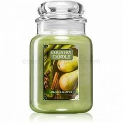 Country Candle Anjou & Allspice vonná sviečka veľká 652 g