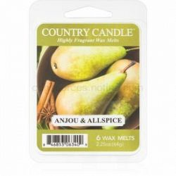 Country Candle Anjou & Allspice vosk do aromalampy 64 g
