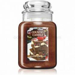Country Candle Brownie Cheesecake vonná sviečka 680 g