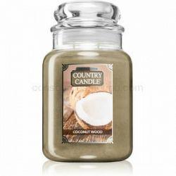 Country Candle Coconut Wood vonná sviečka 680 g