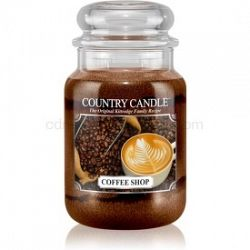 Country Candle Coffee Shop vonná sviečka 652 g