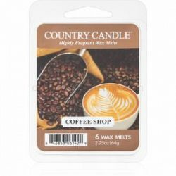 Country Candle Coffee Shop vosk do aromalampy 64 g