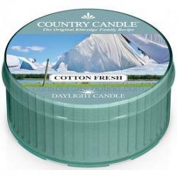 Country Candle Cotton Fresh čajová sviečka 42 g