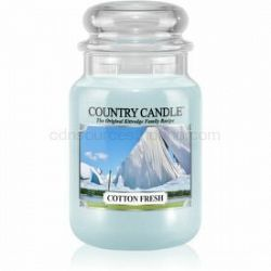 Country Candle Cotton Fresh vonná sviečka 652 g