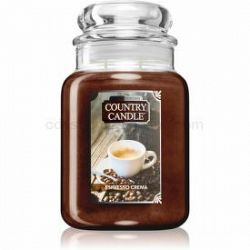 Country Candle Espresso Crema vonná sviečka 680 g