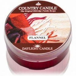 Country Candle Flannel čajová sviečka 42 g