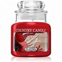 Country Candle Flannel vonná sviečka 104 g