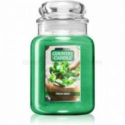 Country Candle Fresh Mint vonná sviečka 680 g