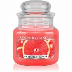 Country Candle Grapefruit Ginger vonná sviečka 104 g