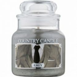 Country Candle Grey vonná sviečka 104 g