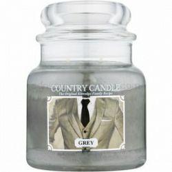 Country Candle Grey vonná sviečka 453 g