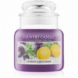 Country Candle Lemon Lavender vonná sviečka 104 g
