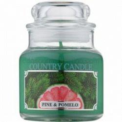 Country Candle Pine & Pomelo vonná sviečka 104 g