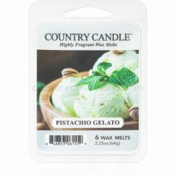 Country Candle Pistachio Gelato vosk do aromalampy 64 g