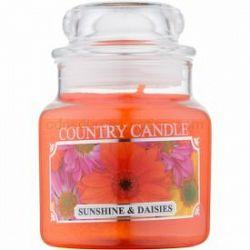 Country Candle Sunshine & Daisies vonná sviečka 104 ml