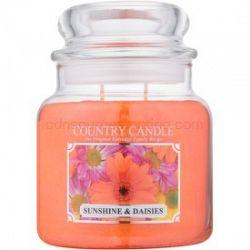Country Candle Sunshine & Daisies vonná sviečka 453 g