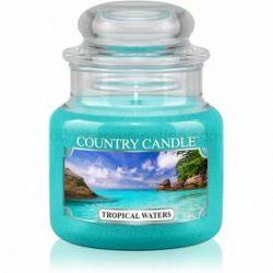 Country Candle Tropical Waters vonná sviečka 104 g