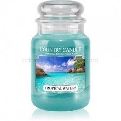 Country Candle Tropical Waters vonná sviečka 680 g