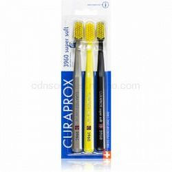 Curaprox 3960 Super Soft zubné kefky 3 ks farebné varianty 3 ks