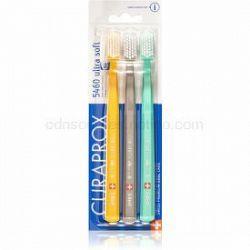 Curaprox 5460 Ultra Soft zubné kefky 3 ks farebné varianty 3 ks