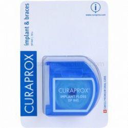 Curaprox DF 845 dentálna niť pre strojček a implantáty 50 ks