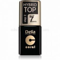 Delia Cosmetics Hybrid Gel gélový vrchný lak na nechty 11 ml