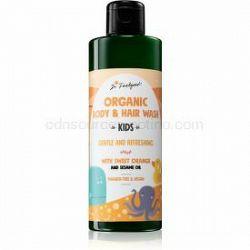 Dr. Feelgood Kids Sweet Orange jemný sprchový gel pre deti 200 ml