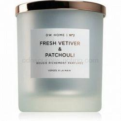 DW Home Fresh Vetiver & Patchouli  vonná sviečka 371,7 g