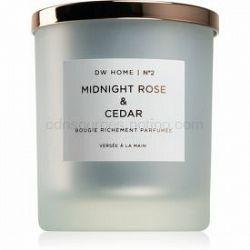 DW Home Midnight Rose & Cedar vonná sviečka 371,7 g