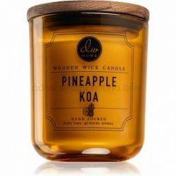 DW Home Pineapple Koa vonná sviečka s dreveným knotom 320,49 g