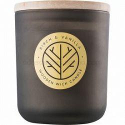 DW Home Smoked Birch & Vanilla vonná sviečka s dreveným knotom 320,35 g
